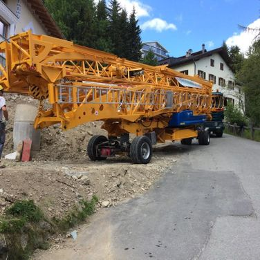 Spezialtransport Engadin Pinggera Transporte Sondertransport